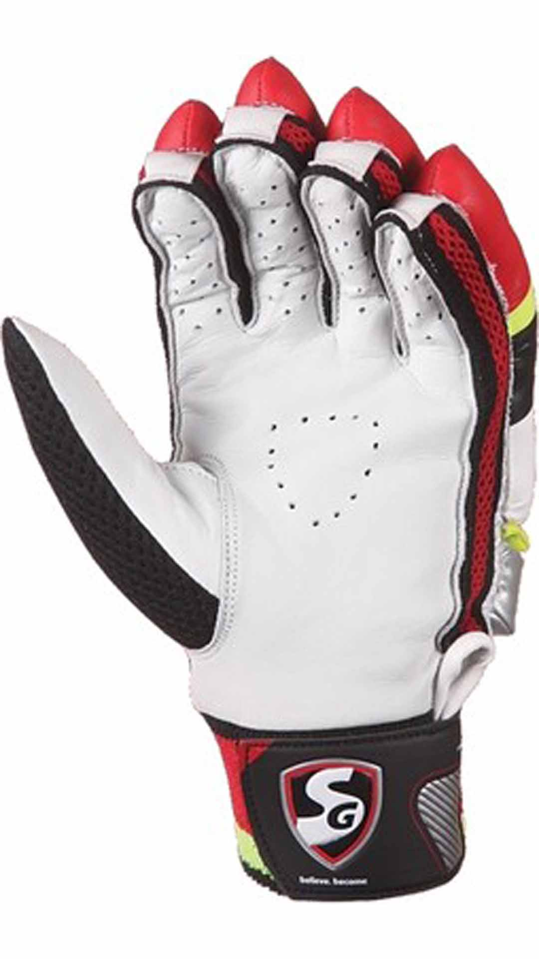 Sg League Batting Gloves-Multicolor