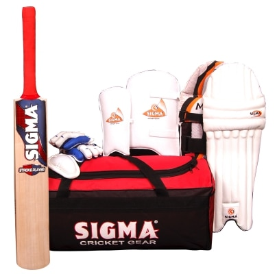 SIGMA MATCH COMPLETE CRICKET KIT SIZE - 4
