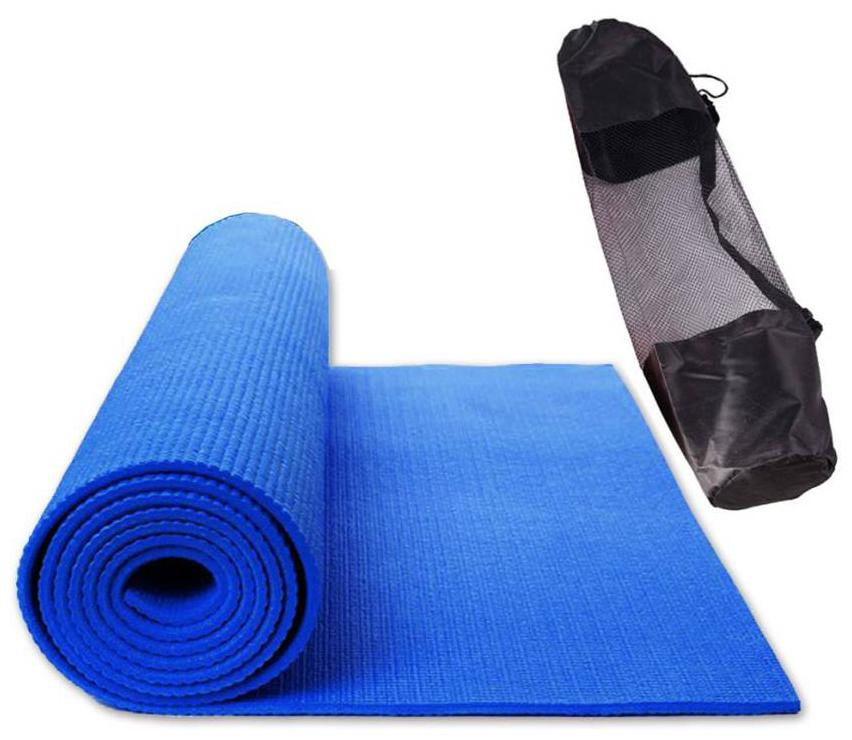 Skys & Ray Yoga Mat Anti Skid Yogamat for Gym Workout and Flooring Exercise - Long Size Yoga Mate for Men Women With cover bag(color Assorted)