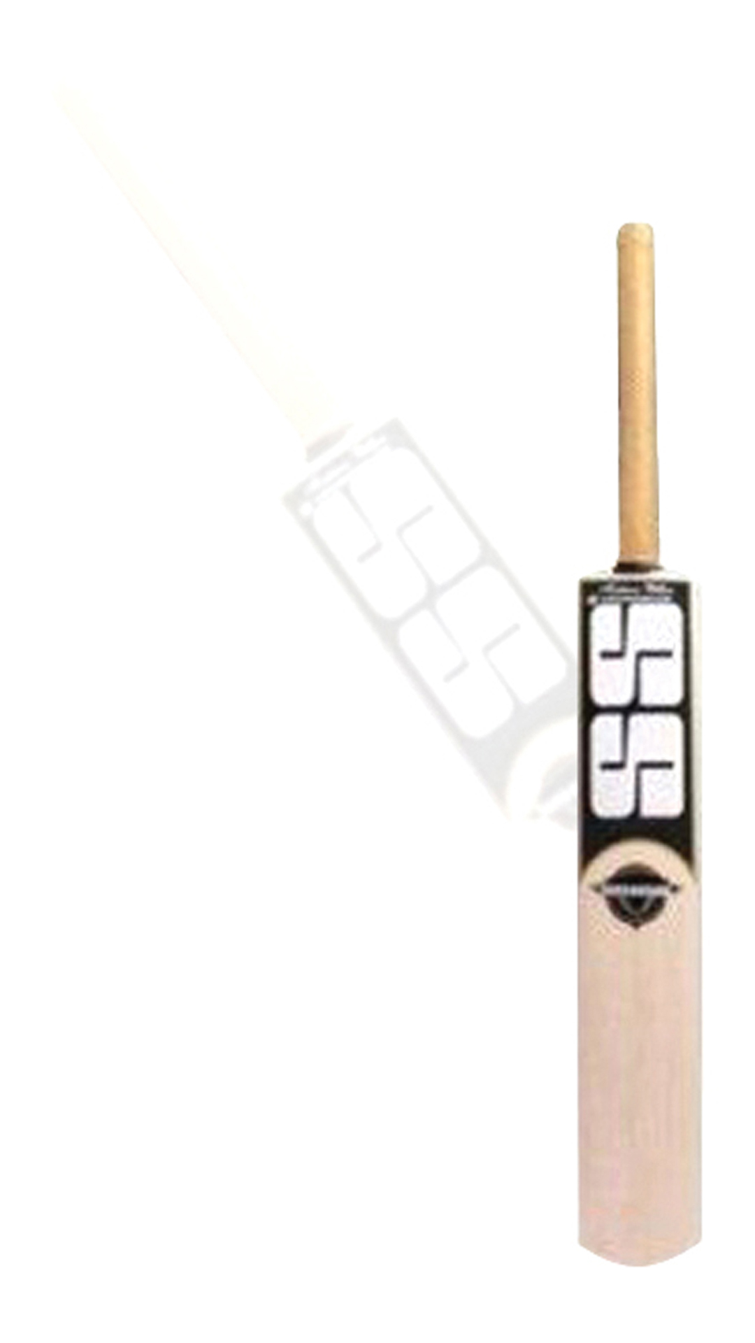 Ss Sangakarra Kashmir Willow Cricket Bat-Beige