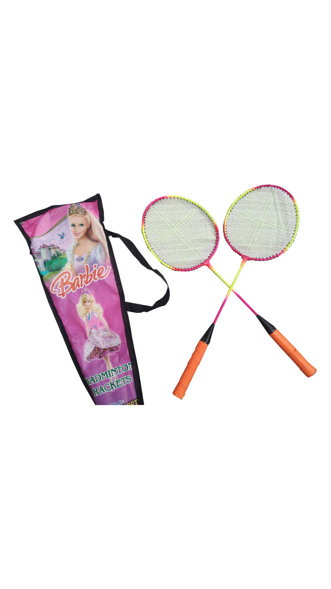 Oh BabyBadminton Racquets With Cover And 2 Shuttlecocks