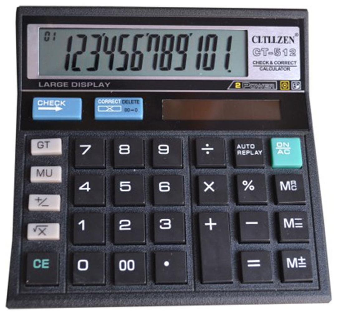 ORPAT OT 512 GT Basic Desktop Calculator