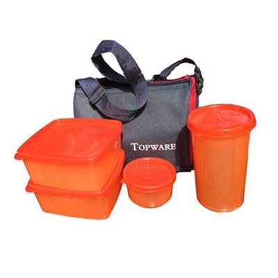 Top-ware 4 pieces lunch box with insulated Bag