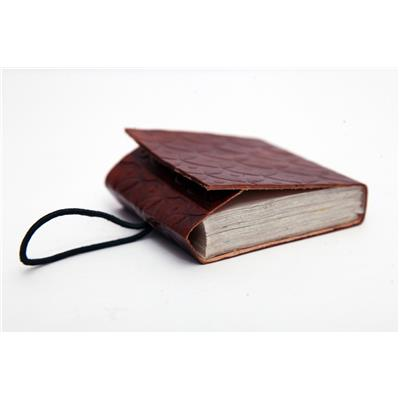 Satya Handmade Pure Pocket Leather Diary