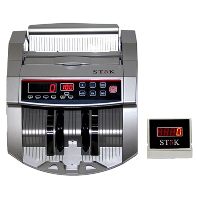 SToK ST MC01 S Note Counting Machine with Fake Note Detector And External LED Display available at Paytm for Rs.5054