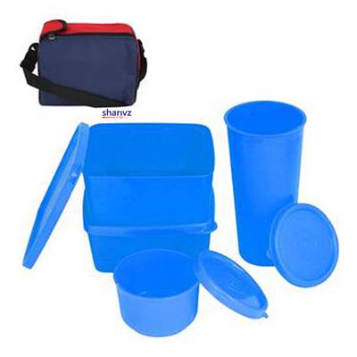 Pickadda Lunch Box with Insulated Bag