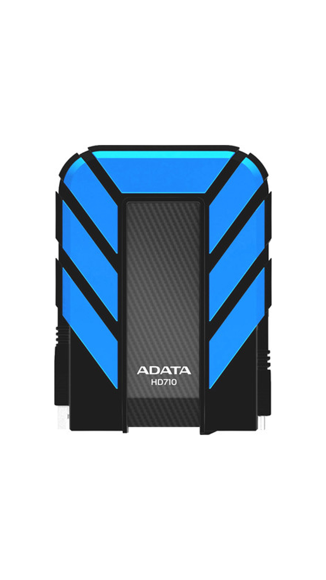 Adata Durable HD710 1 TB Portable External Hard Disk (Black & Blue)