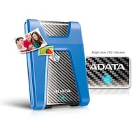 Adata Durable HD650 1 TB External Hard Drive (Blue)