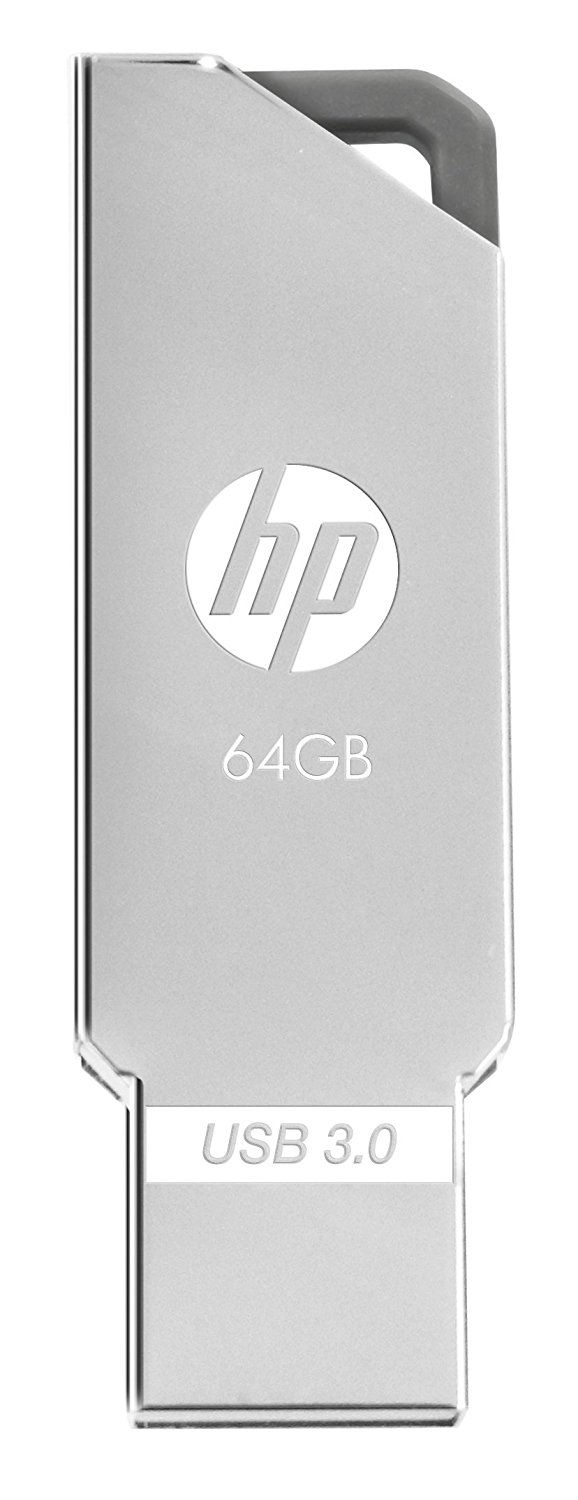 HP X740W USB 3.0 64 GB Utility Pen Drive (Grey)
