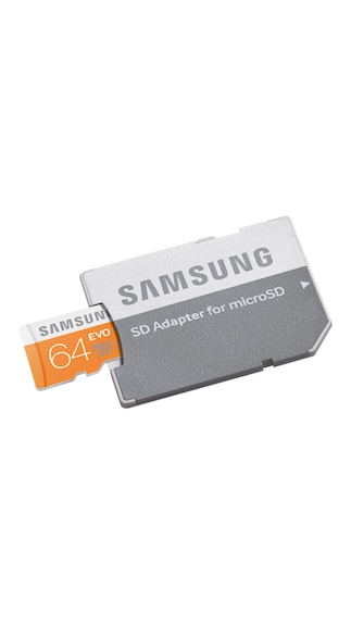 Samsung-EVO-64GB-MicroSDXC-Class-10-(48MB/s)-Memory-Card-(With-SD-Adaptor)