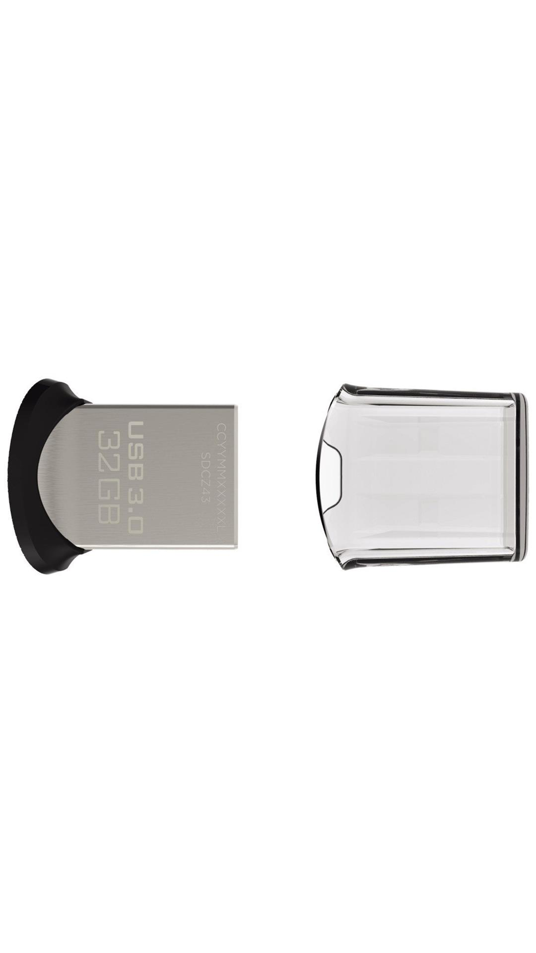 SanDisk SDCZ43-032G USB 3.0 32 GB Utility Pen Drive (Silver)