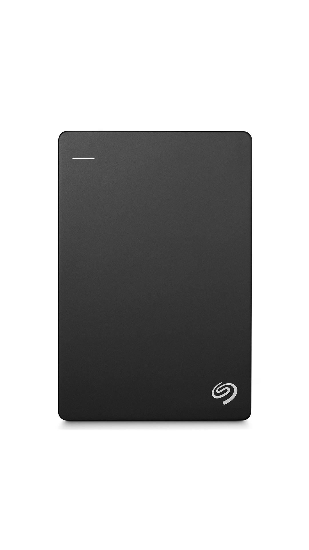 Seagate Backup Plus 2 TB Portable External Hard Disk (Black) With 200 GB of Cloud Storage & Mobile Device Backup