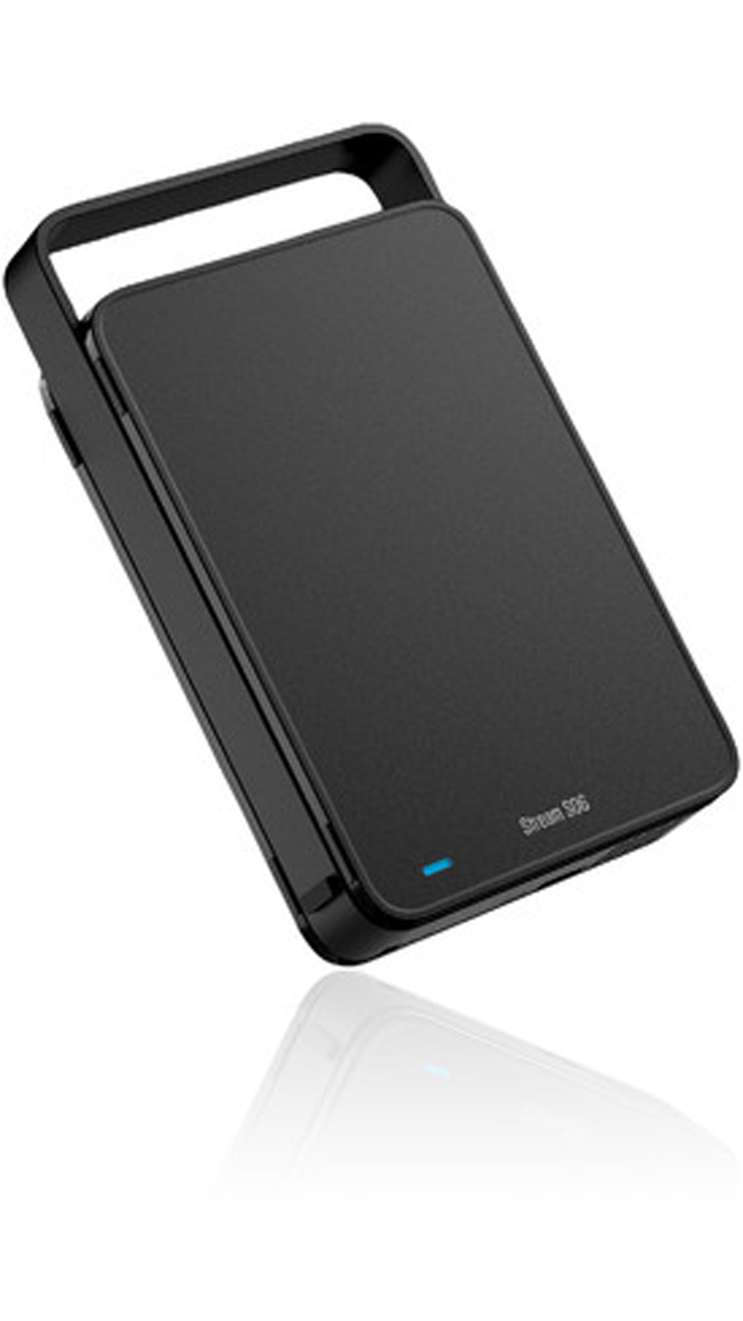 Silicon Power Stream S06 (SP030TBEHDS06C3K) 3 TB Portable External Hard Disk (Black)