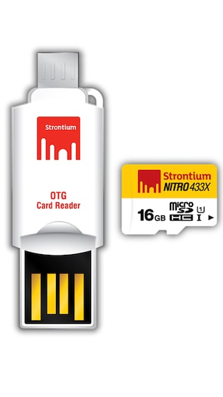 Strontium-Nitro-433x-16GB-MicroSDHC-UHS-1-(65MB/s)-Memory-Card-(With-OTG-Adapter)