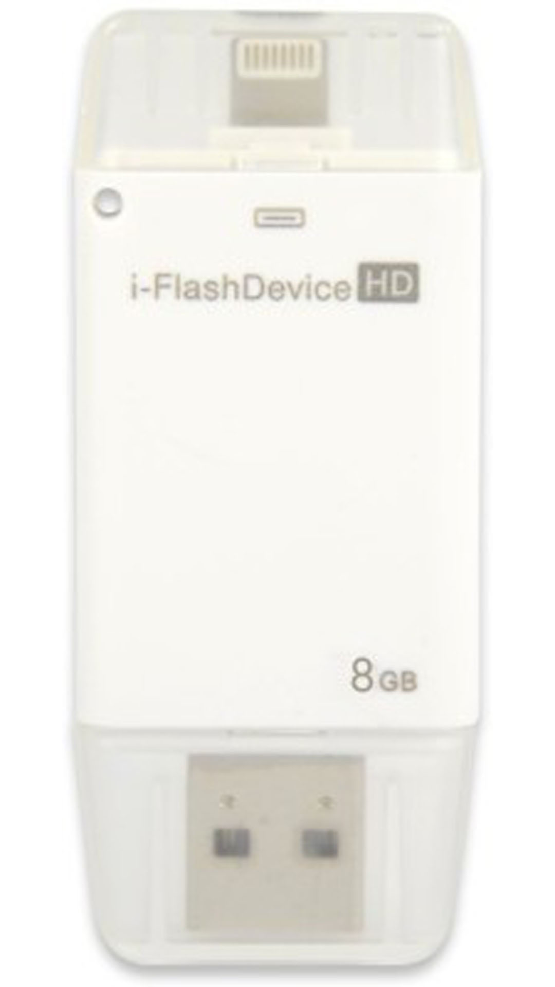 TDG i Flash USB 2.0 16 GB On-The-Go Pendrive (White)