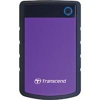Transcend StoreJet 25H3 (TS2TSJ25H3P) 2 TB Portable External Hard Disk (Purple)