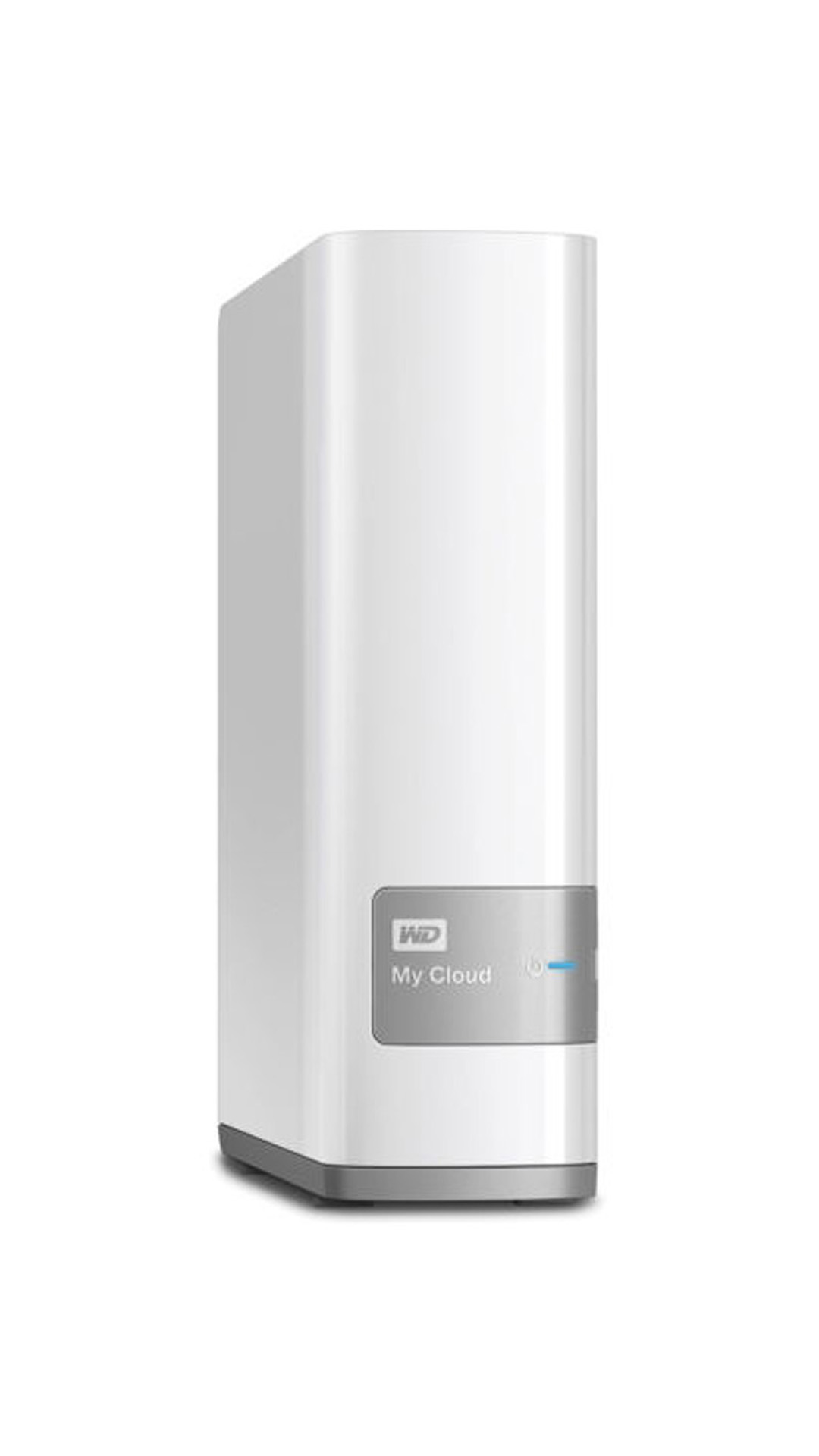 WD My Cloud 6 TB Network External Hard Drive (WDBCTL0060HWT) (White)
