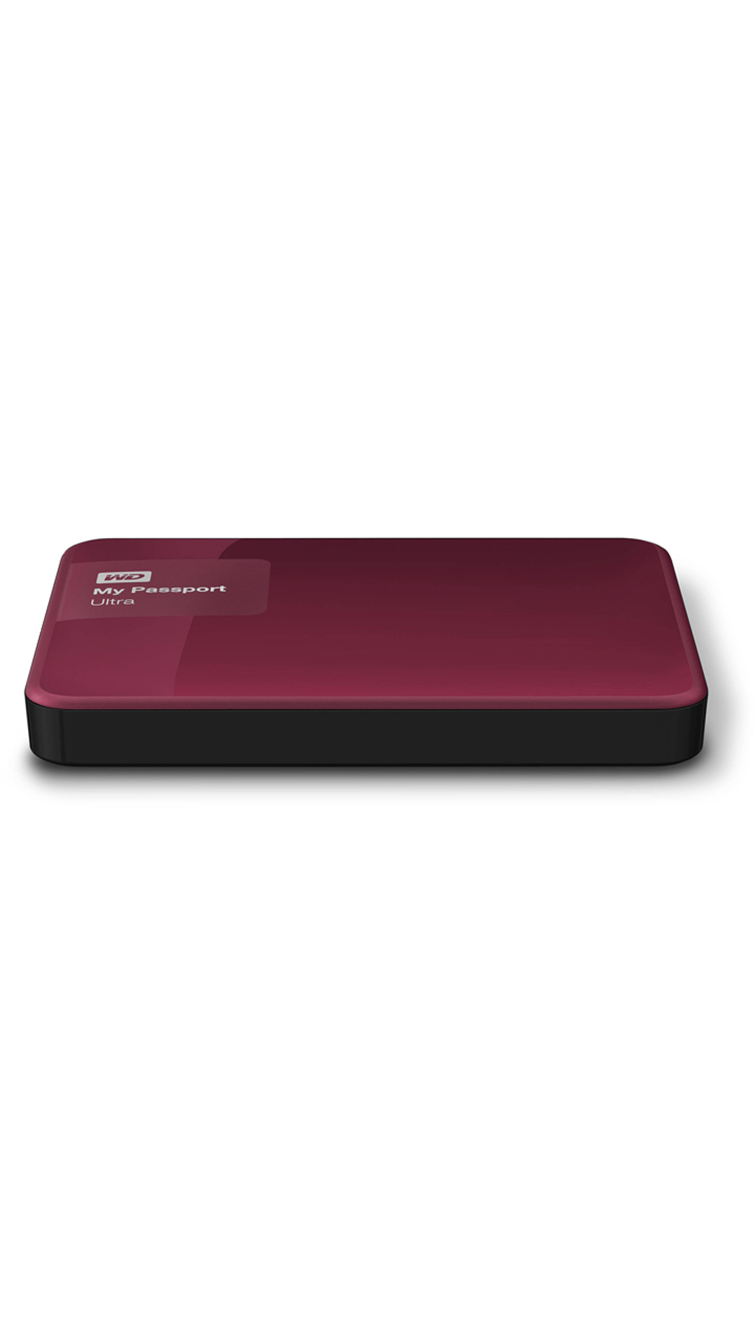 WD My Passport Ultra (WDBBKD0020BBY) 2 TB Portable External Hard Drive (Berry)