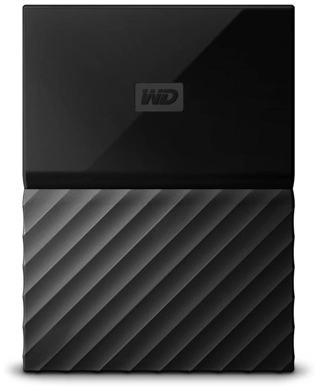 WD My Passport WDBYNN0010BBK 1 TB Portable External Hard Drive (Black)