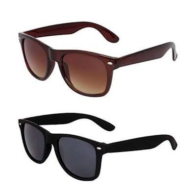 Austin Combo of Black & Brown Wayfarer Sunglass