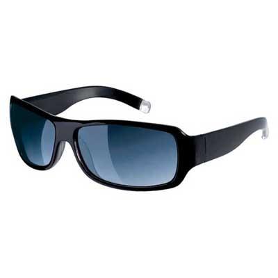 Fastrack Black Rectangle Sunglass