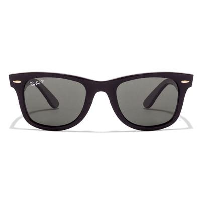 Ray-Ban 2140 901/58 Size 50 Medium Black Polarized Uv Protected Wayfarer Sunglass