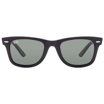 Ray-Ban 2140 901 Size 50 Medium Black Uv Protected Wayfarer Sunglass