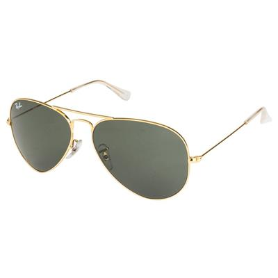 Ray-Ban Orb3025 L205 Size 58 Medium Aviators Sunglasses