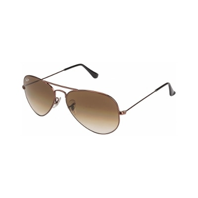 Ray-Ban Rb3025 014/51 58 Size 58 Gradiant Brown Aviator Sunglass