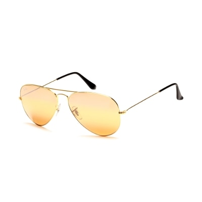 Ray-Ban Rb3025 001/4f 58 Size 58 Mirror Gold Aviator Sunglass