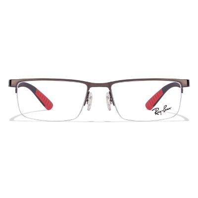 Ray-Ban Rx6350 2620 Size 53 Gunmatel Recangle Eyeglasses