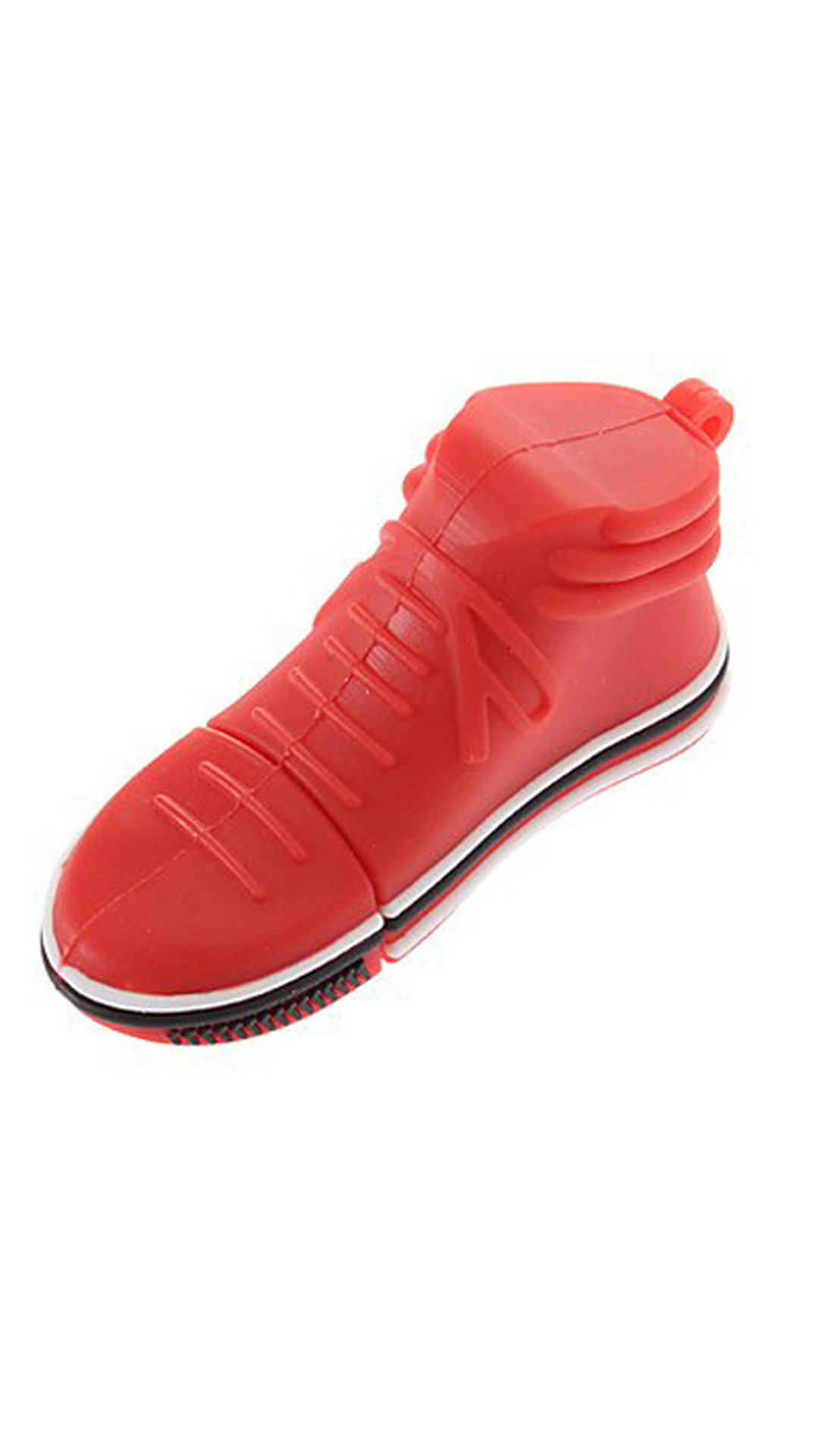 The Fappy Store Shoe USB 2.0 8 GB Designer Pen Drive (Red)