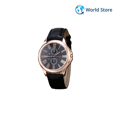 2016 New Fashion Top Selling Brand Quartz Pu Leather Wristwatch...