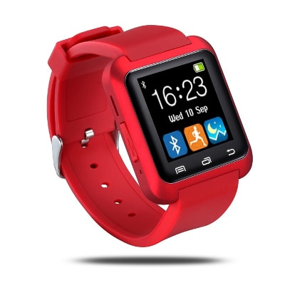 Advati U8 Smartwatch Compatible for Vivo Mobile (RED)