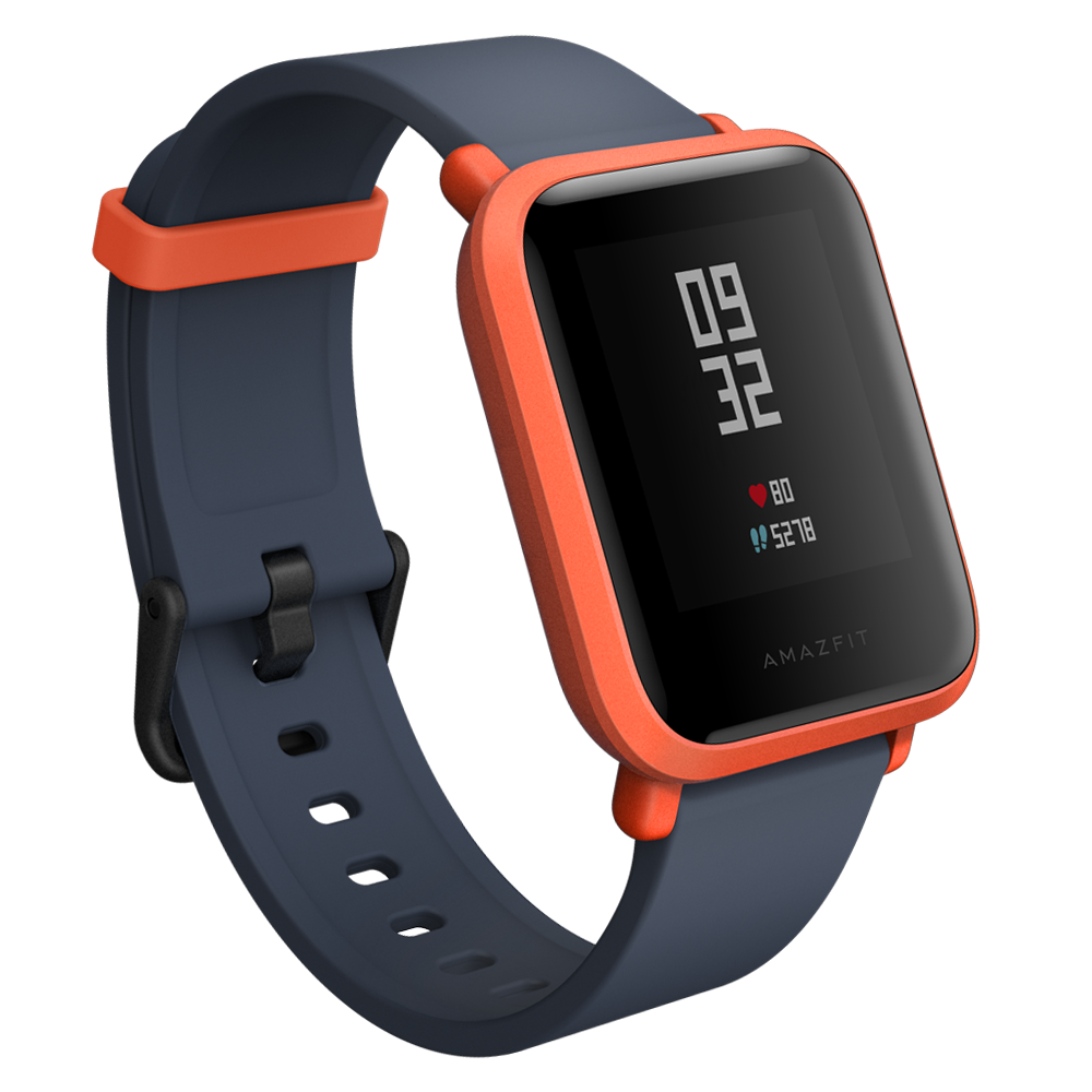 Amazfit Bip Bluetooth Fitness Smartwatch with All Day Heart Rate Monitor