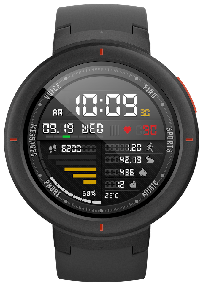 Amazfit Verge Smart Sport Tracking with Bluetooth Innovative Smartwatch