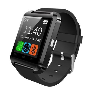 U8 Watch Bluetooth Smart Wrist Watch Phone Black Mate For IOS Android