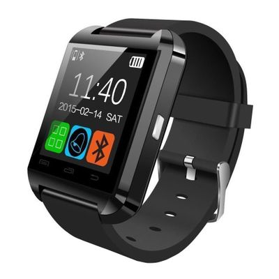 Bingo U8 Black Watch Bluetooth Smart Wrist Watch for IOS and Android Phones Paytm Mall Rs. 598.00
