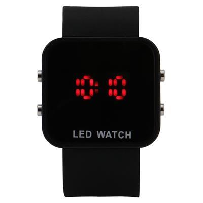 Black Led Digital Watch