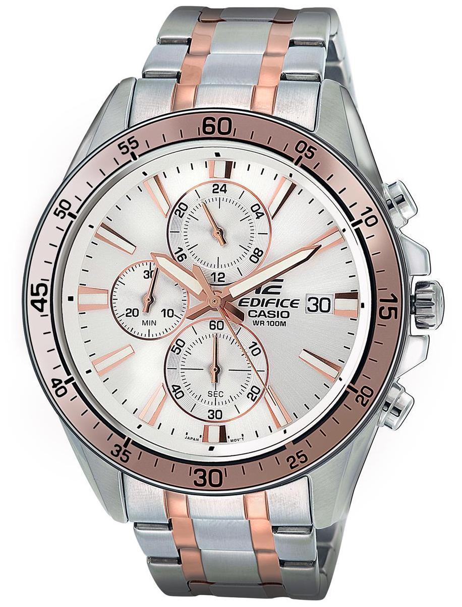 Casio Edifice Analog White Dial Mens Watch Efr 549sg 7avudf Price Ef 534rbk 1a 546sg Ex237 For Men