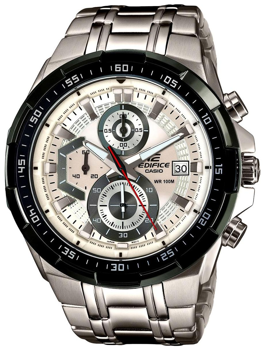 Casio Edifice Analog White Dial Mens Watch Efr 549sg 7avudf Price Ef 534rbk 1a 539d Ex192 For Men