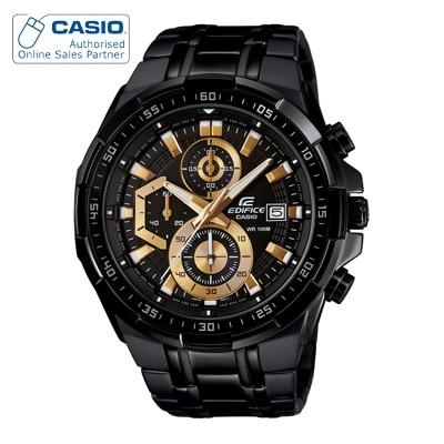 Casio Edifice EFR-539BK-1AVUDF (EX187) Analog Watch for Men