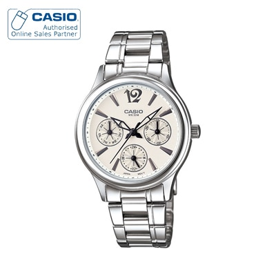 Casio Enticer Lady's LTP-2085D-7AVDF (A848) Analog Watch for Women