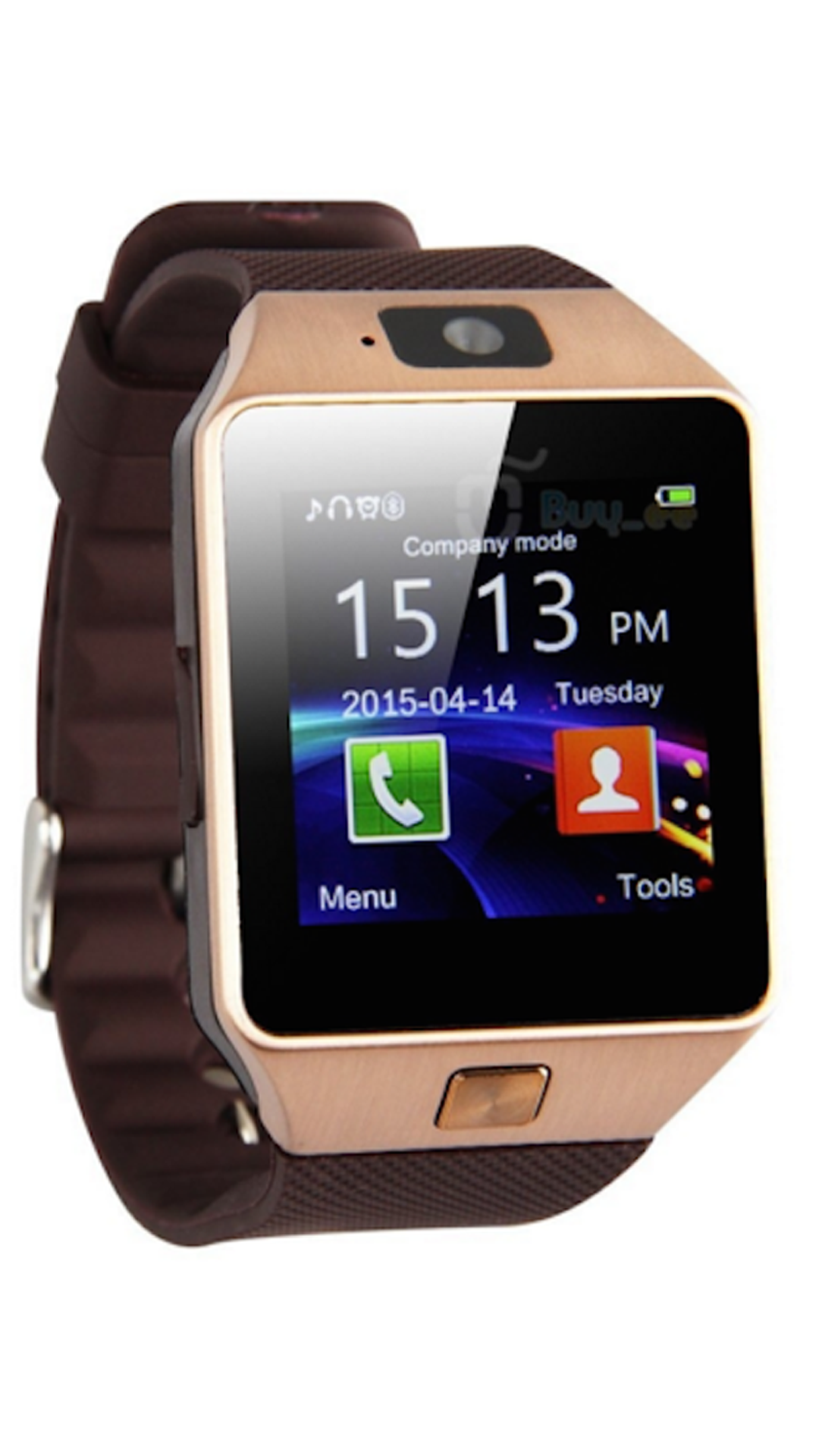 Celestech Brown Smart Watch