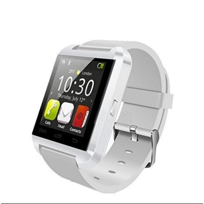 eCosmos Smart Notification Watch Bluetooth Watch ios Android Connect Smartwatch (White,Black,Red)