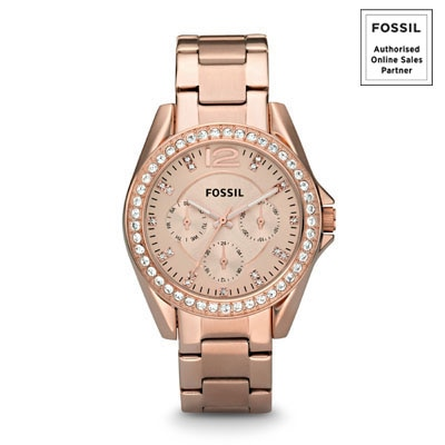 Fossil Es2811 Women Chronograph Watch