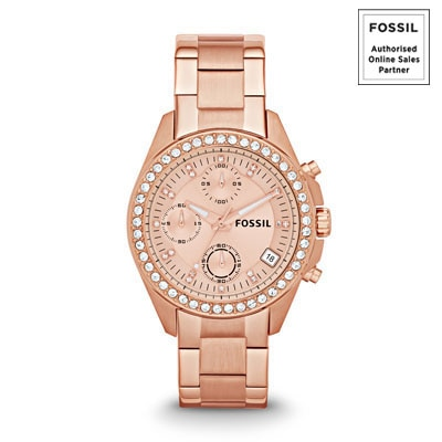 Fossil Es3352 Women Chronograph Watch