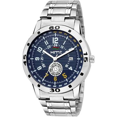 Hemt HM-GR117-BLU-CH Day And Date Analog Watch - For Men