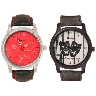 KVELL BE PROUD Kvell Combo Of Men's Watches (UMW-006 & UMW-010)