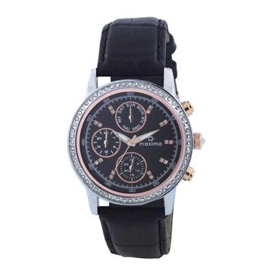 Maxima Attivo Collection 32419Lmli Women Chronograph Watch